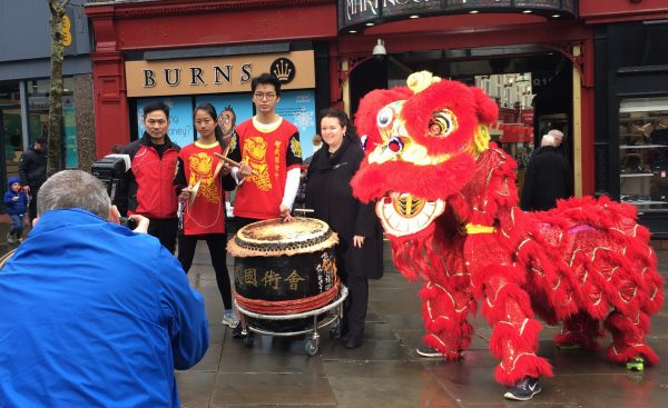 Chinese New Year celebrated at The Galleries