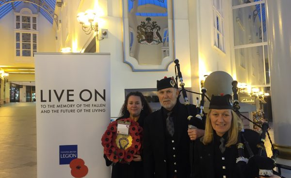 The Galleries marks Armistice Day with special performance