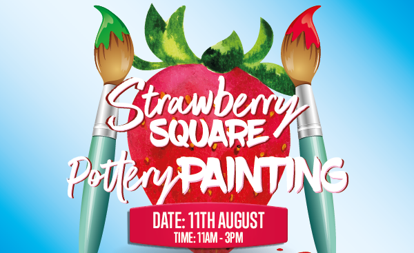 Strawberry Pottery Painting 11th August