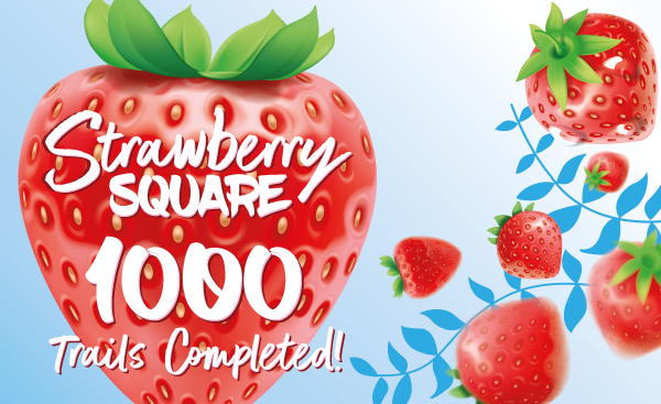 Over 1,000 trails completed at Strawberry Square