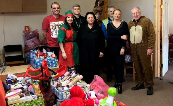 Christmas collections raise over £1,500 for local charity