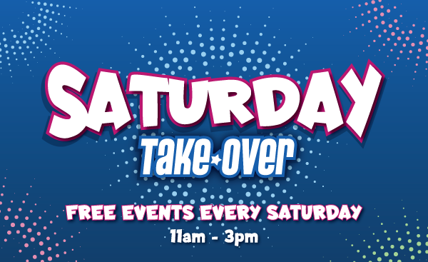 Saturday Takeover brings an event a week to The Galleries