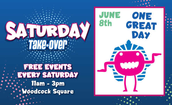 Saturday Take Over – One Great Day, 8th June